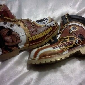 Other - Redskin Construction Boots 🏈💛🏈💛